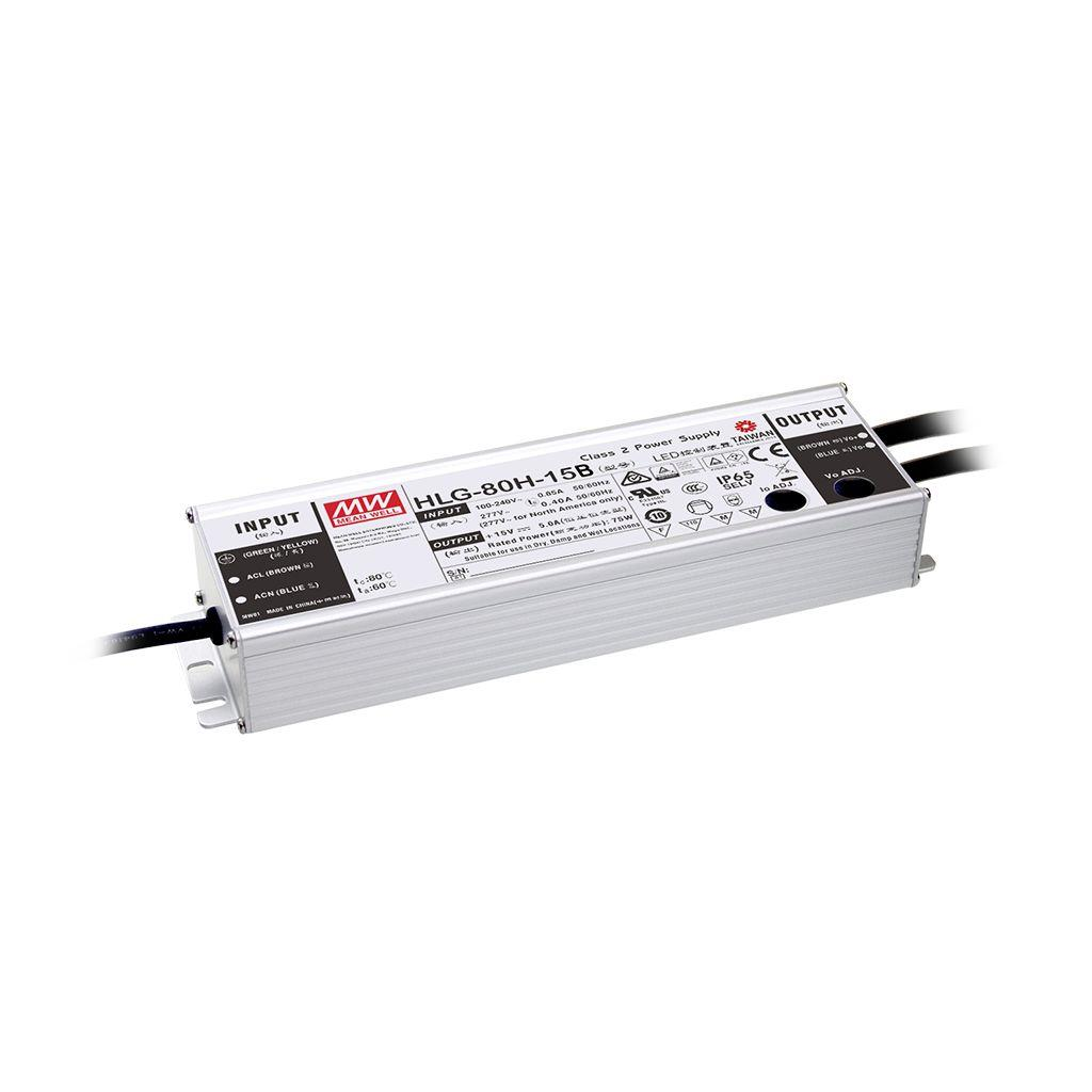 Mean Well HLG-80H-42AB AC/DC Box Type - Enclosed 42V 1.95A Single output LED driver