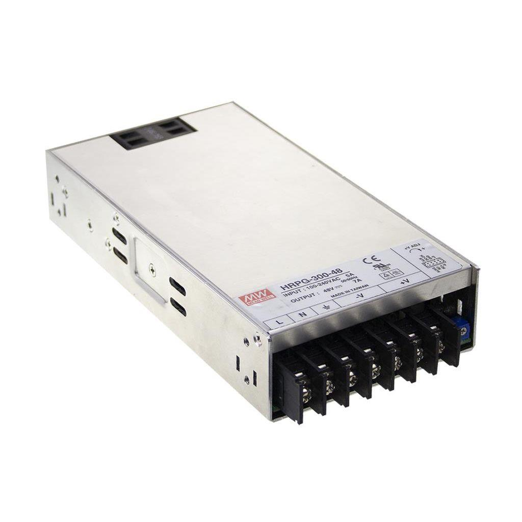 Mean Well HRP-300-48 AC/DC Box Type - Enclosed 48V 7A Power Supply