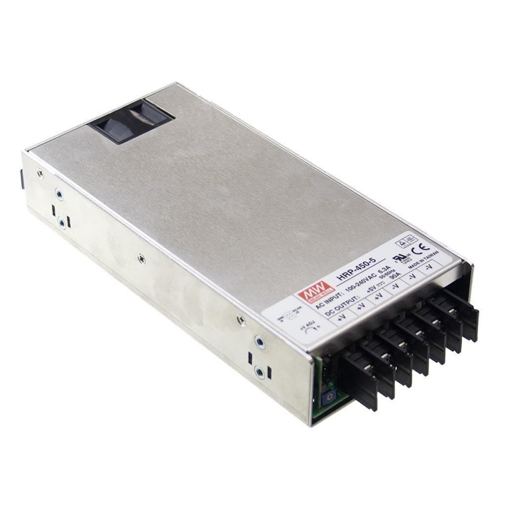 Mean Well HRP-450-24 AC/DC Box Type - Enclosed 24V 18A Power Supply