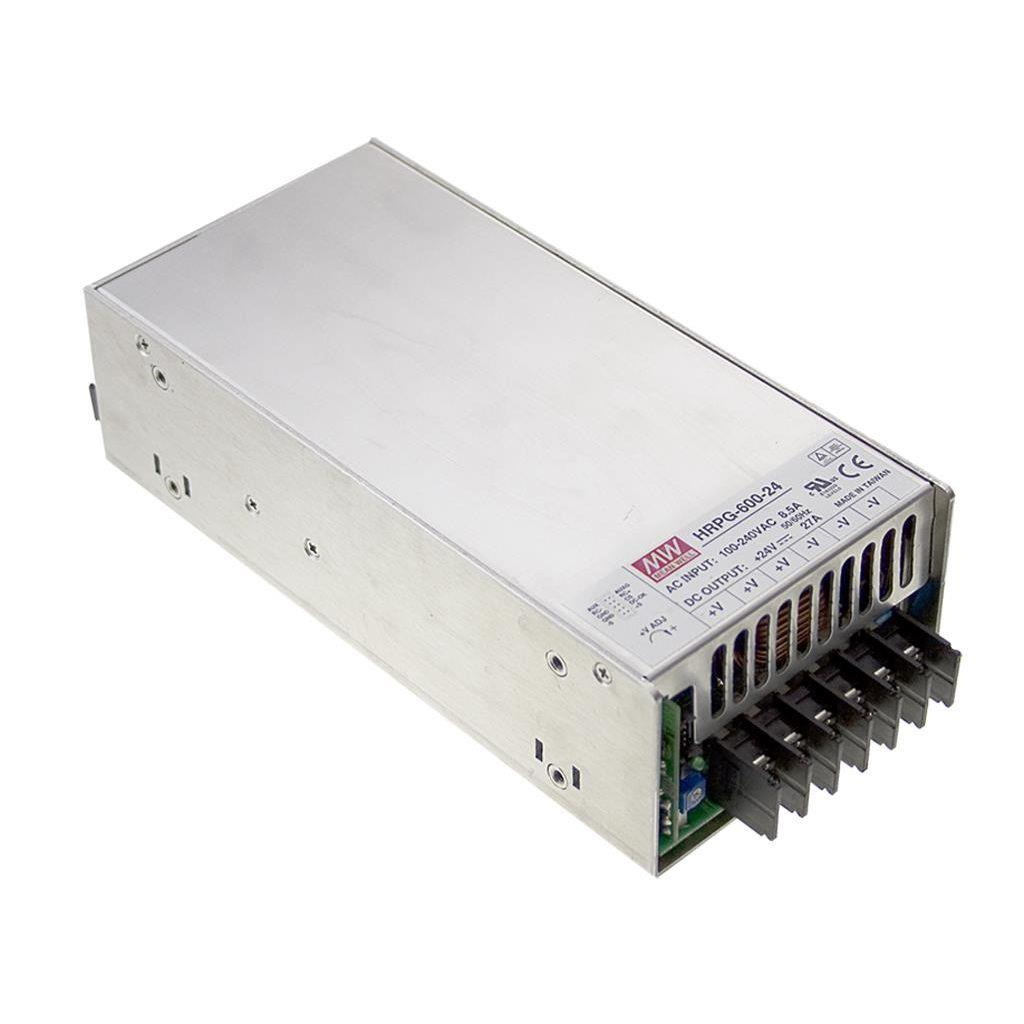 Mean Well HRP-600-48 AC/DC Box Type - Enclosed 48V 13A Power Supply