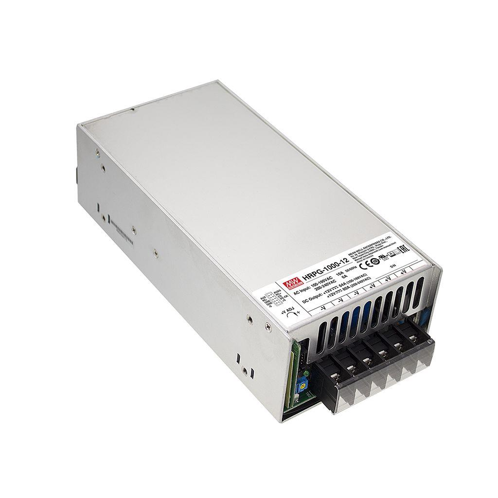 Mean Well HRPG-1000-24 AC/DC Box Type - Enclosed 24V 42A Power Supply