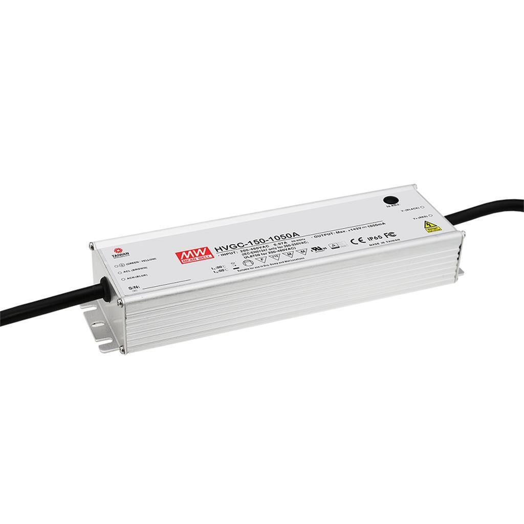 Mean Well HVGC-150-700B AC/DC C.C.  Box Type - Enclosed 215V 0.7A Single output LED driver