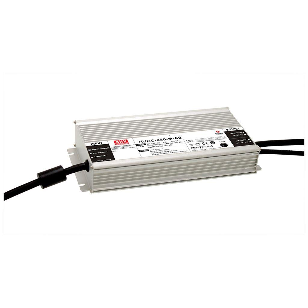 Mean Well HVGC-480-L-AB AC/DC Box Type - Enclosed 343V 1.4A LED Driver
