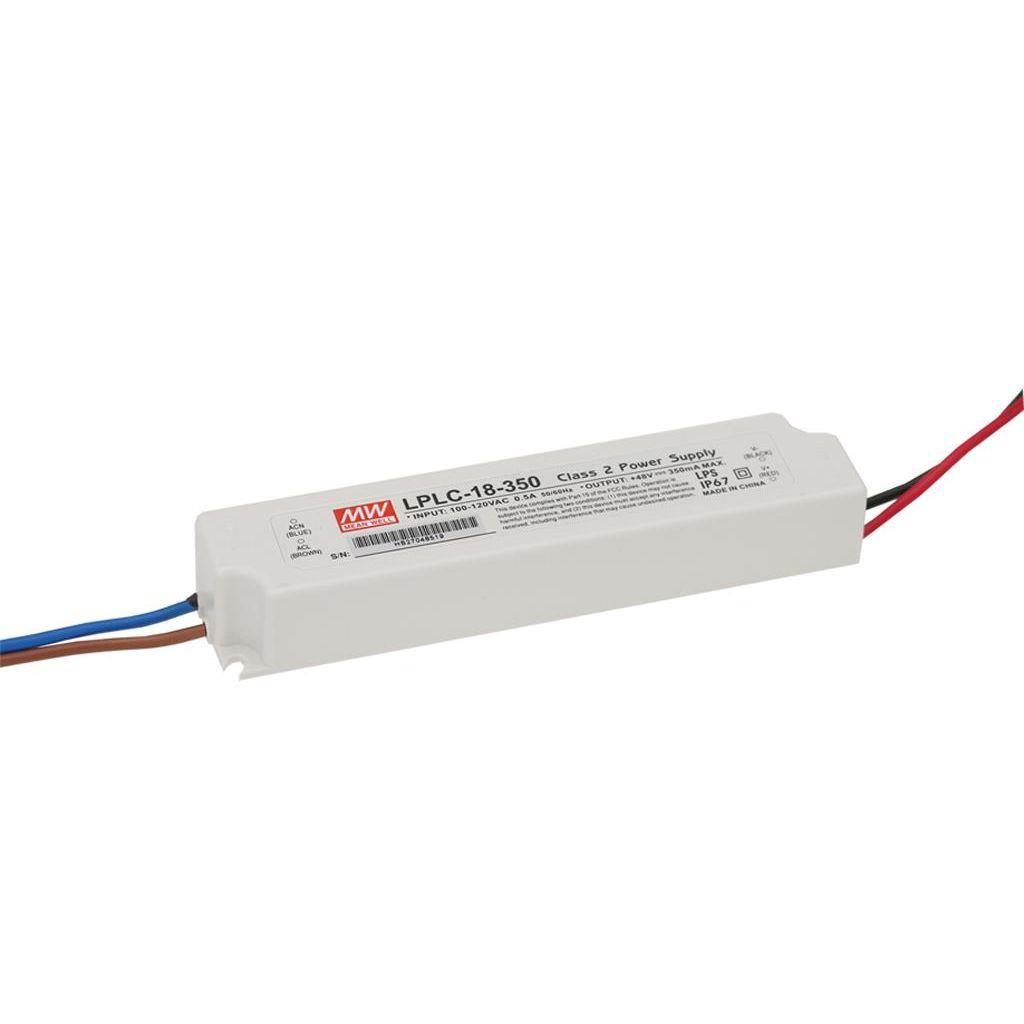 Mean Well LPLC-18-350 AC/DC C.C. Box Type - Enclosed 48V 18A Single output LED driver