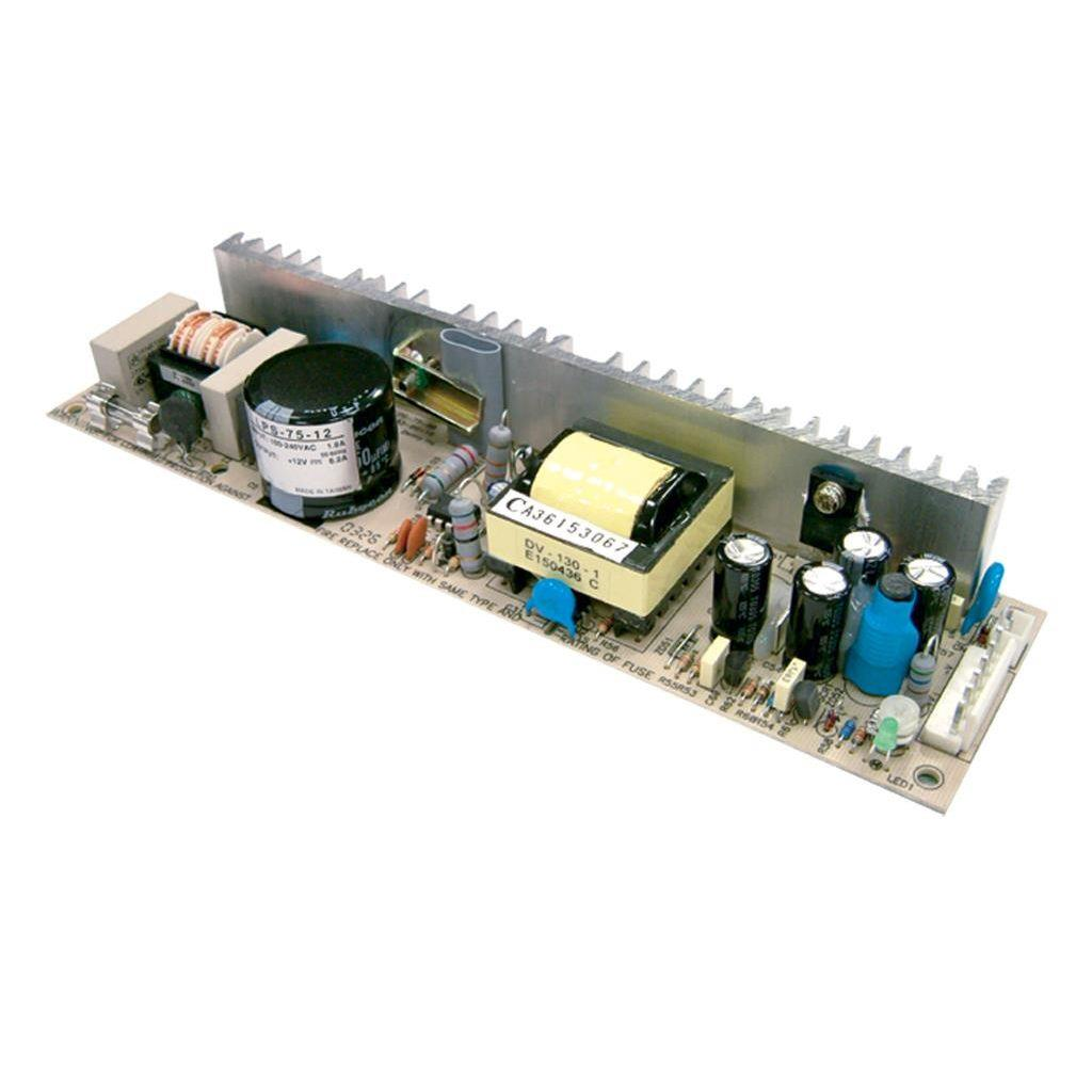 Mean Well LPS-75-15 AC/DC Open Frame - PCB 15V 5A Power Supply