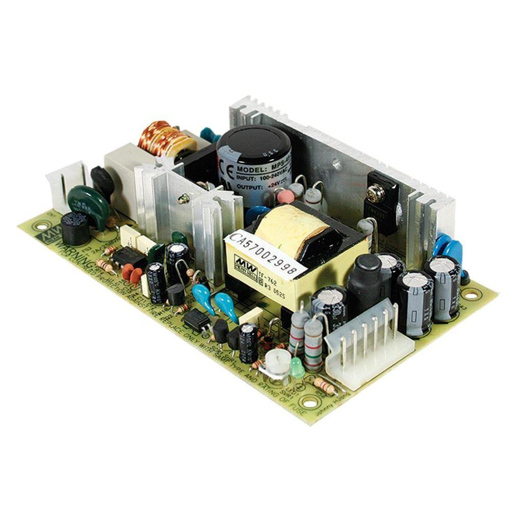 Mean Well MPT-45A AC/DC Open Frame - PCB 5V 5A Medical Power Supply