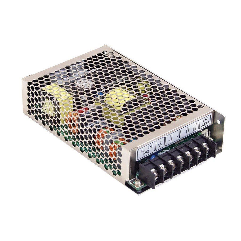 Mean Well MSP-100-7.5 AC/DC Box Type - Enclosed 7.5V 13.5A Power Supply