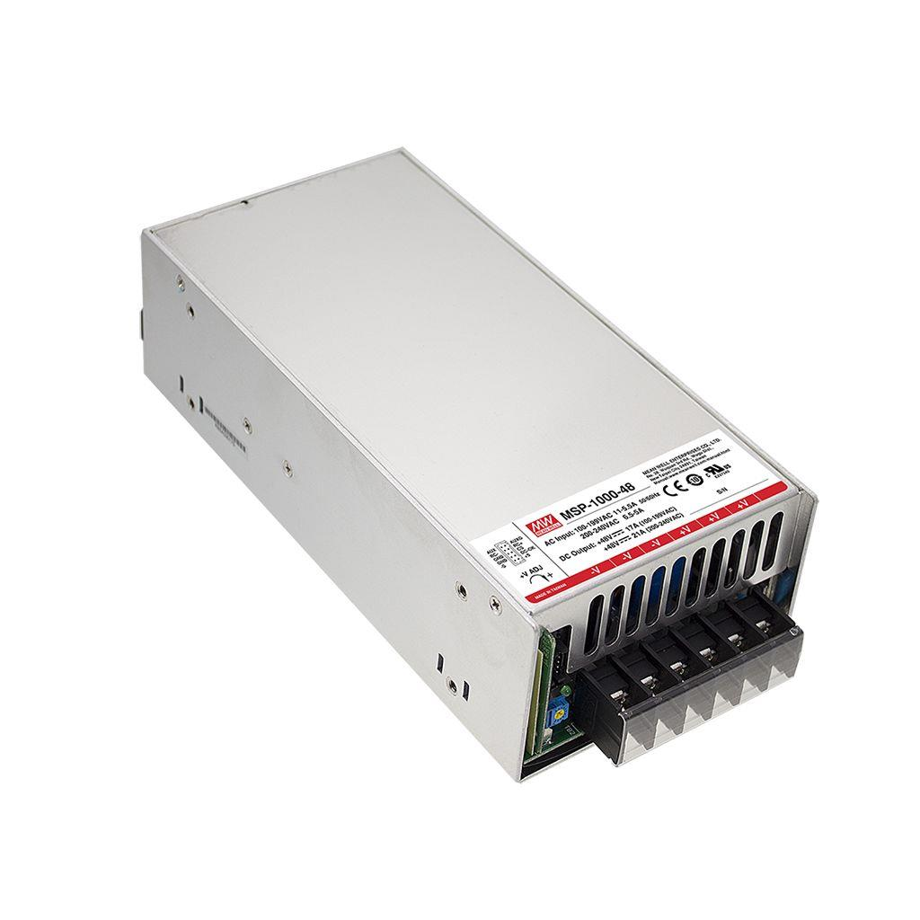 Mean Well MSP-1000-24 AC/DC Box Type - Enclosed 24V 42A Power Supply