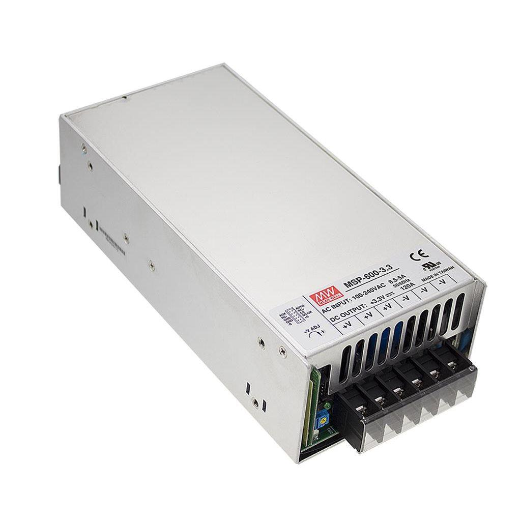 Mean Well MSP-600-48 AC/DC Box Type - Enclosed 48V 13A Power Supply