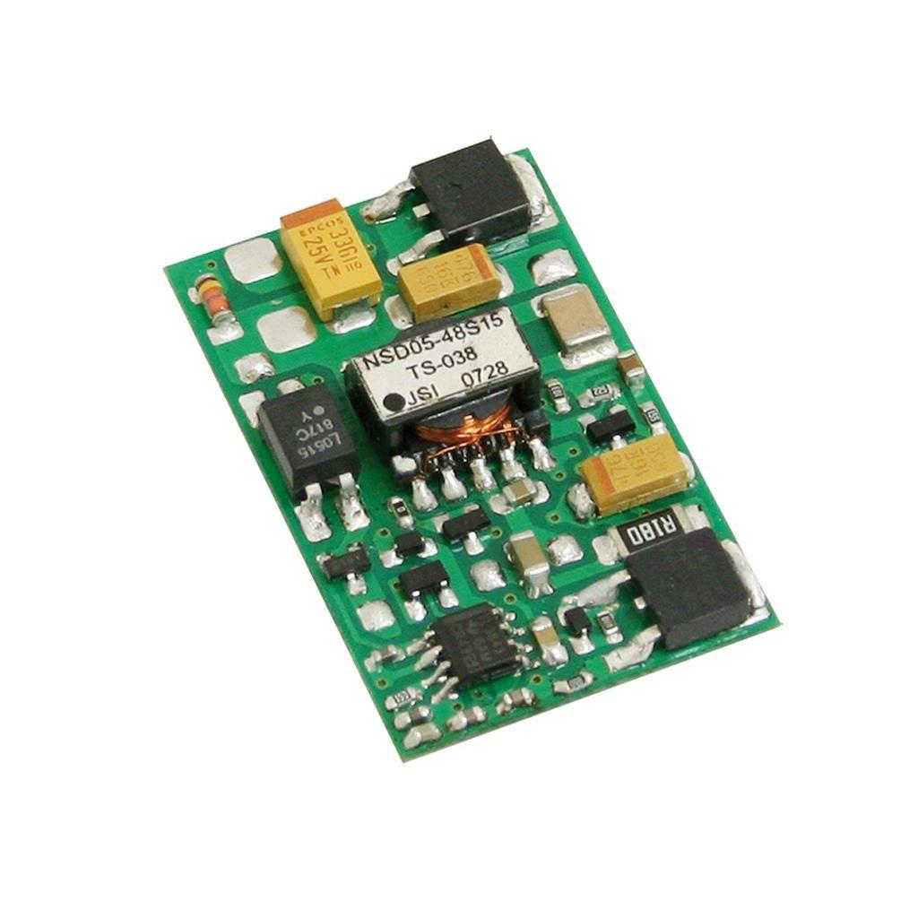 Mean Well NSD05-12S15 DC/DC Open Frame - PCB  15V 0.33A Converter