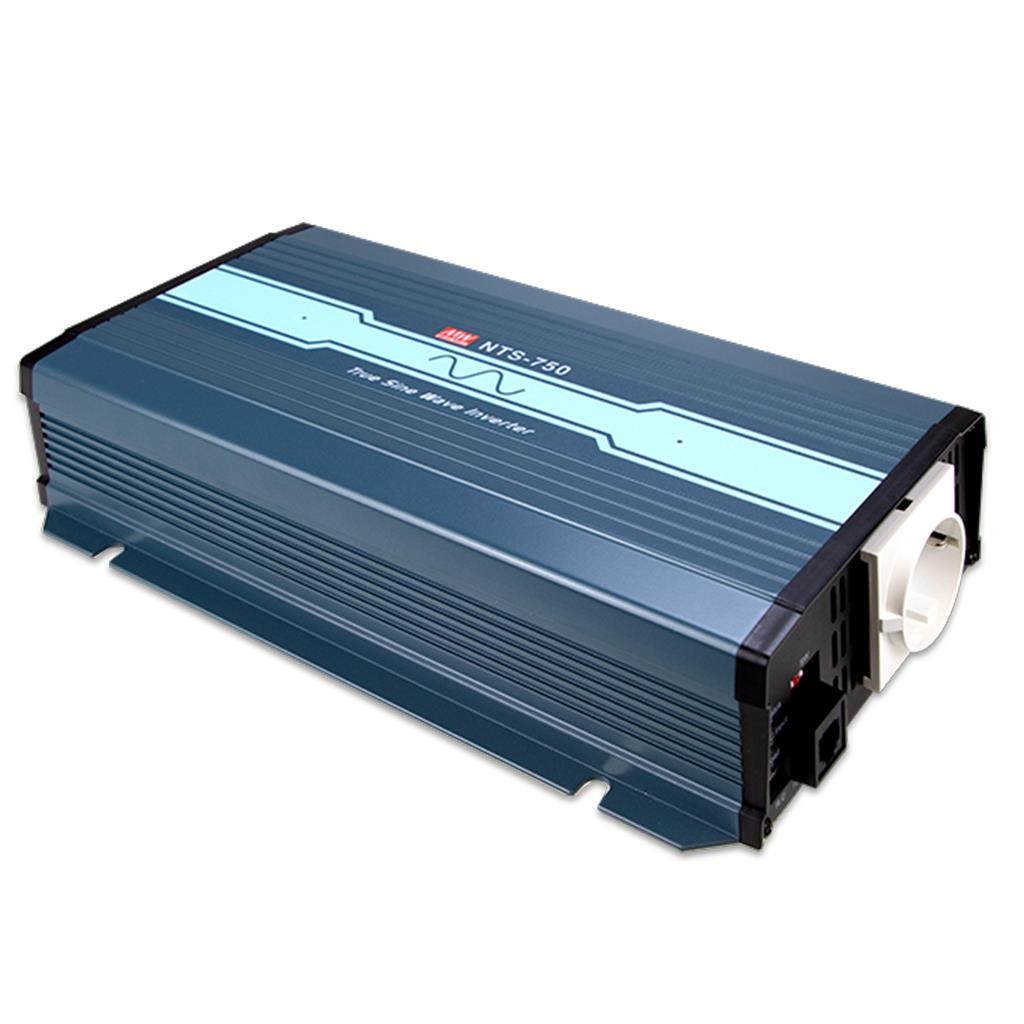 MeanWell NTS-750-248EU DC/AC Box Type - Enclosed 200/220/230/240 VAC True Sine Wave Inverter