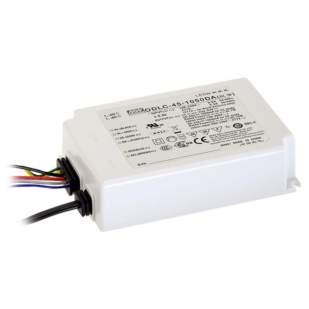 Mean Well ODLC-45-350DA AC/DC C.C. Box Type - Enclosed 95V 0.35A LED Driver