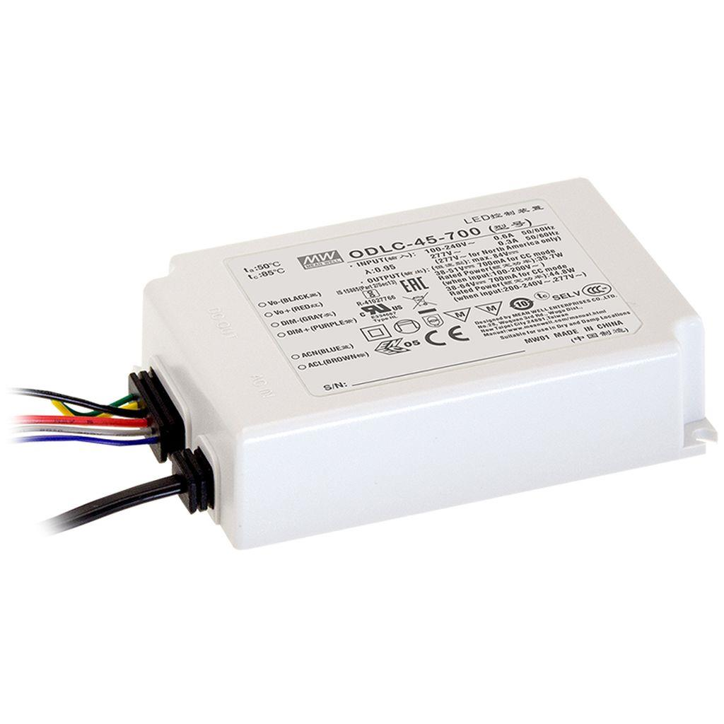 Mean Well AC/DC C.C Box Type - Enclosed 90V 0.5A LED Driver