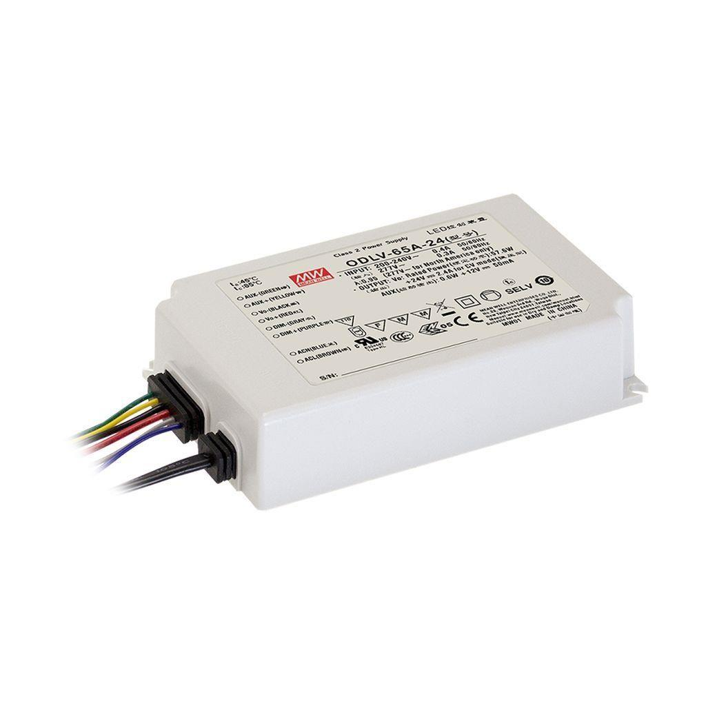 Mean Well ODLV-65A-36 AC/DC C.V. Box Type - Enclosed 36V 1.8A LED Driver