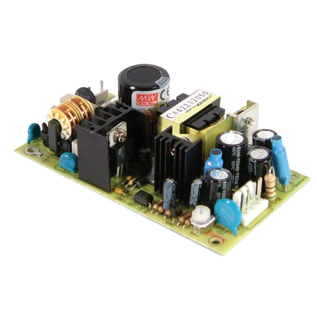 Mean Well PD-2503 AC/DC Open Frame - PCB 5V 4A Power Supply