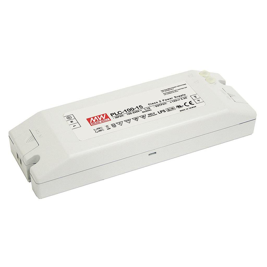 Mean Well PLC-100-20 AC/DC C.V. C.C. Box Type - Enclosed 20V 4.8A Single output LED driver