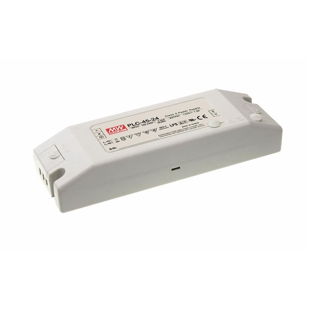 Mean Well PLC-45-20 AC/DC C.C. Box Type - Enclosed 20V 2.3A Single output LED driver