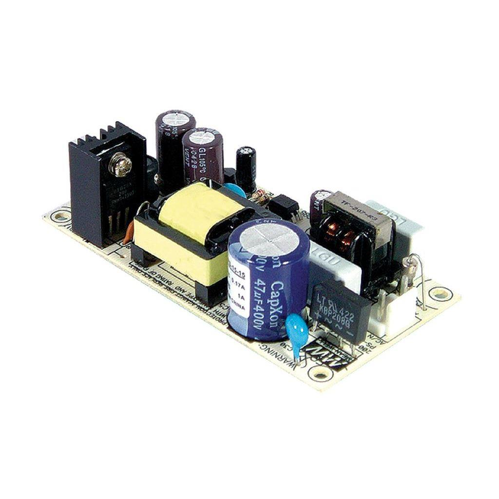 Mean Well PS-15-48 AC/DC Open Frame - PCB 48V 0.3A Power Supply