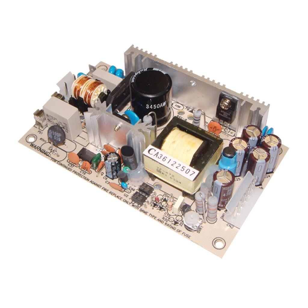 Mean Well PS-45-7.5 AC/DC Open Frame - PCB 7.5V 5.4A Power Supply
