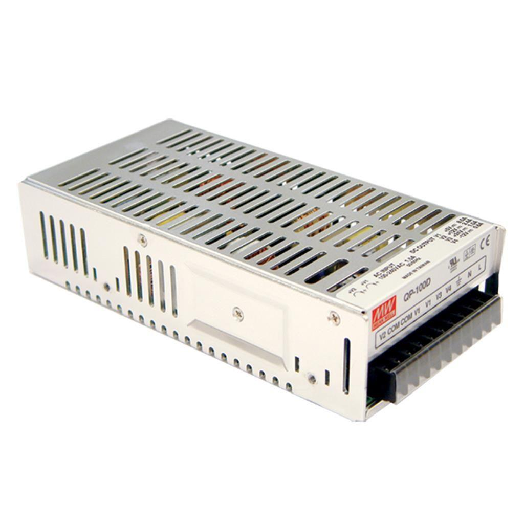 Mean Well QP-100-3D AC/DC Box Type - Enclosed 5V 10A Power Supply