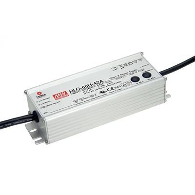 Mean Well HLG-60H-30B AC/DC C.V. C.C.  Box Type - Enclosed 30V 2A Single output LED driver