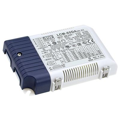 Mean Well LCM-60DA AC/DC C.C.  Box Type - Enclosed 90V 0.5A Multi-Stage Output LED driver