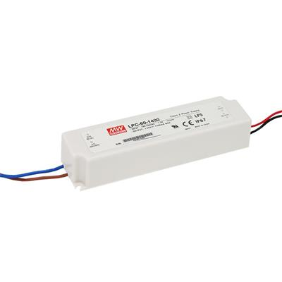 Mean Well LPC-60-1050 AC/DC C.C. Box Type - Enclosed 48V 1.05A Single output LED driver