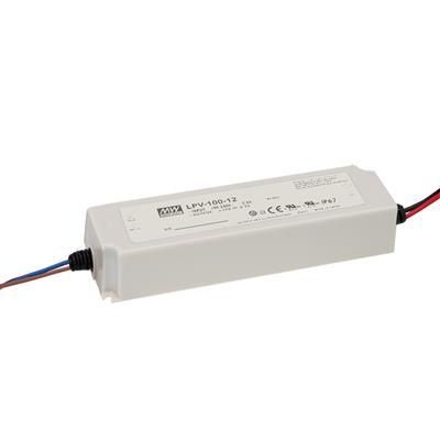Mean Well LPV-100-15 AC/DC C.V. Box Type - Enclosed 15V 6.7A Single output LED driver