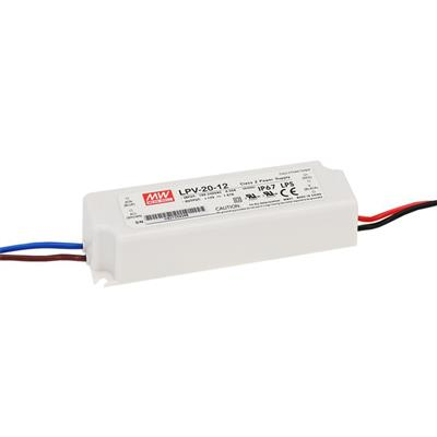 Mean Well LPV-20-5 AC/DC C.V. Box Type - Enclosed 5V 3A Single output LED driver