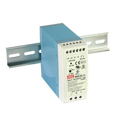 Mean Well MDR-60-5 AC/DC DIN Rail 5V 10A Power Supply