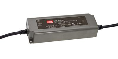 Mean Well NPF-120-12 AC/DC C.V. C.C. Box Type - Enclosed 12V 10A Single output LED driver
