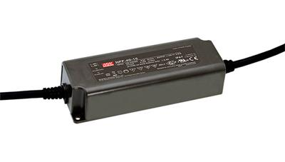 Mean Well NPF-40-24 AC/DC C.V. C.C. Box Type - Enclosed 24V 1.67A Single output LED driver