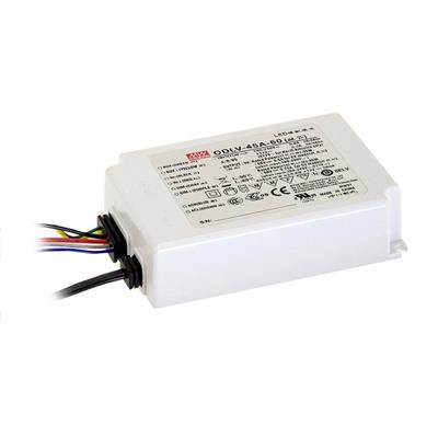 Mean Well ODLV-45-12 AC/DC C.V. Box Type - Enclosed 12V 3.75A LED Driver