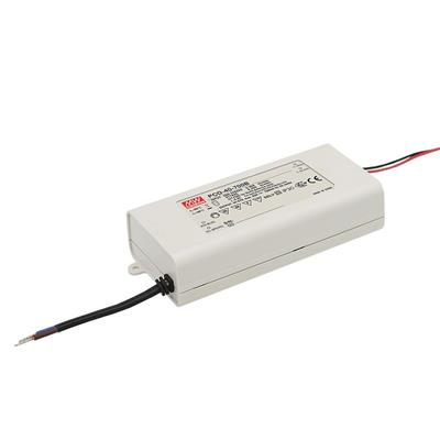 Mean Well PCD-40-500B AC/DC C.C.  Box Type - Enclosed 80V 0.5A Single output LED driver
